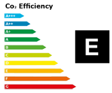 C02-Efficiency Class E